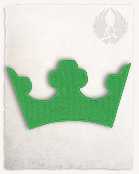 Crown patch medium green Discontinued
