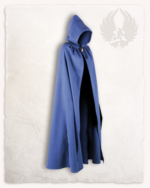 Aaron cloak canvas blue