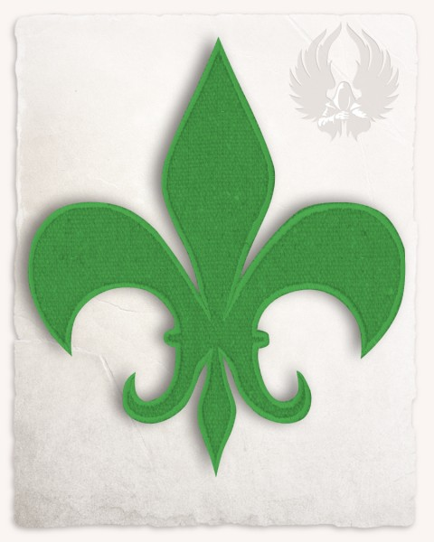 Fleur-de-Lis medium green discontinued