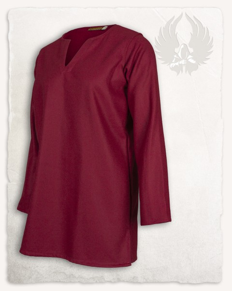 Tronde tunic wool bordeaux LIMITED EDITION
