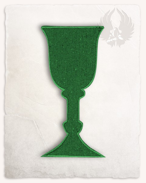 Goblet patch medium green discontinued