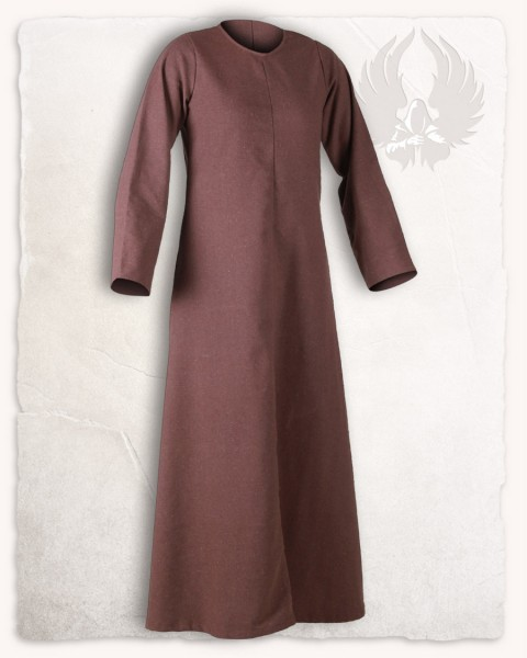 Alina - Sous-robe marron en canvas