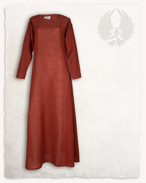 Lenora ladies tunic linen copper LIMITED EDITION