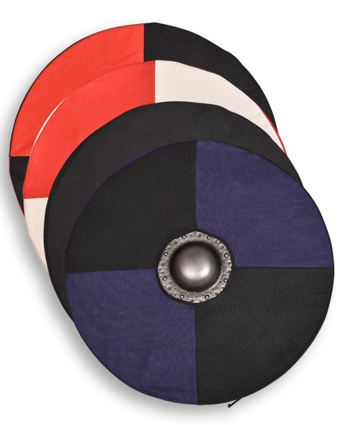 Rorrik round shield with 2 shieldcovers