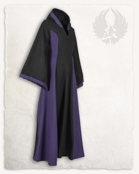 Iris Kleid Canvas schwarz/lila LIMITED EDITION